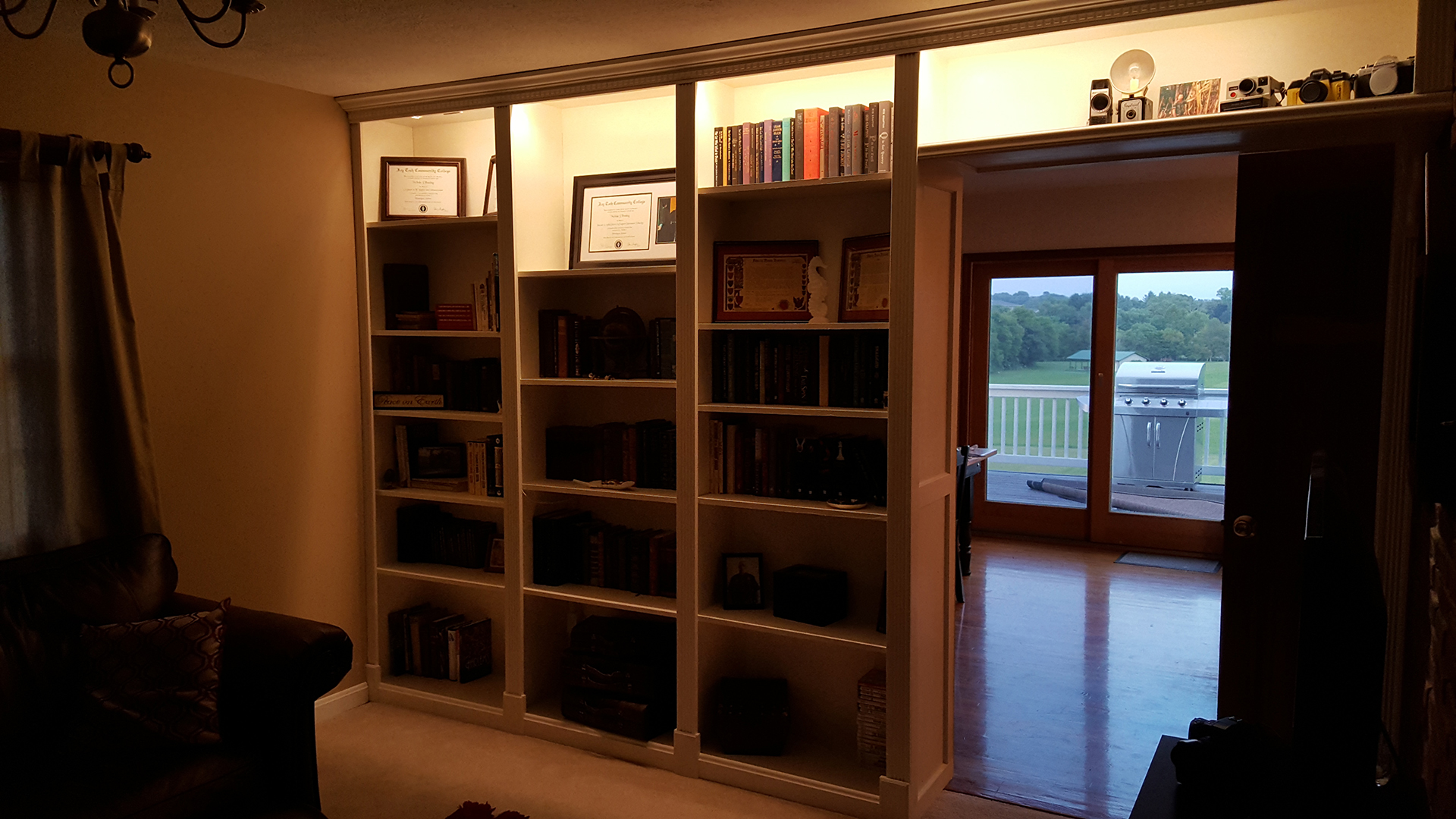 After Bookcase